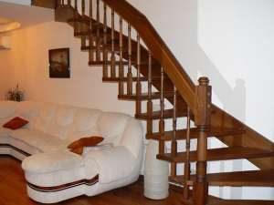 лестницы на дачу деревянные